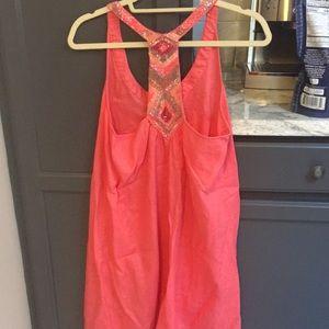 gorgeous beaded calypso dress 🌸